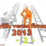 Bayilik veren şirketler 2013