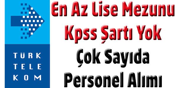 Türk Telekom 2015 Personel Alımı
